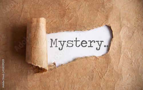 Fotografia Uncovering a mystery