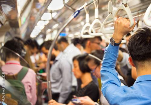 Singapore subway train