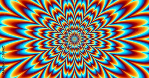 Contraction Vibration - Optical Illusion