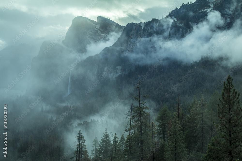 Fototapeta Krajobraz górski Park Narodowy Yosemite