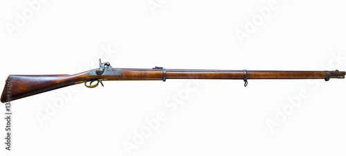 Fotografia, Obraz Civil War Rifle