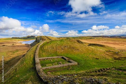 Canvas-taulu Milecastle 39, Hadrian's Wall, Northumberland, England