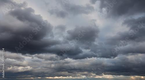 Fotografie, Obraz Natural backgrounds: stormy sky