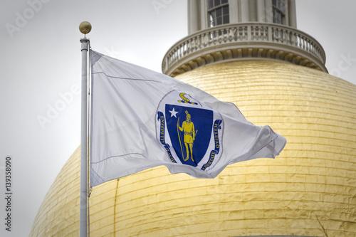 Obraz na plátně Massachusetts State House Dome