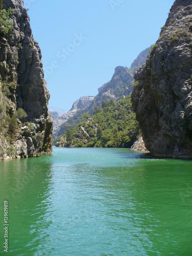 Canvas-taulu Green canyon