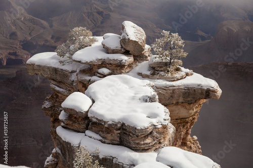 Winter Landscape at the South Rim Grand Canyon