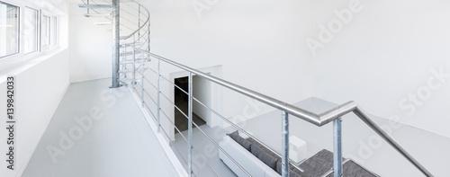 Stampa su Tela Galerie mit Geländer