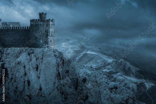 Photo Dark Castle