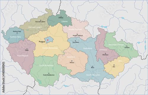 Photo Map of Czech Republic