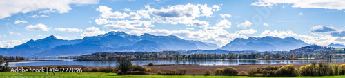 Fotografia, Obraz chiemsee lake