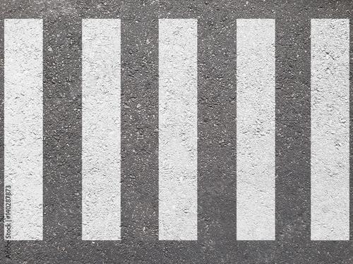 Fotografija crosswalk on the road for safety when people walking cross the street