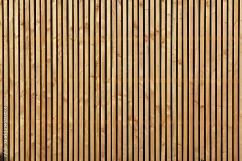 Canvas-taulu palissade en bois