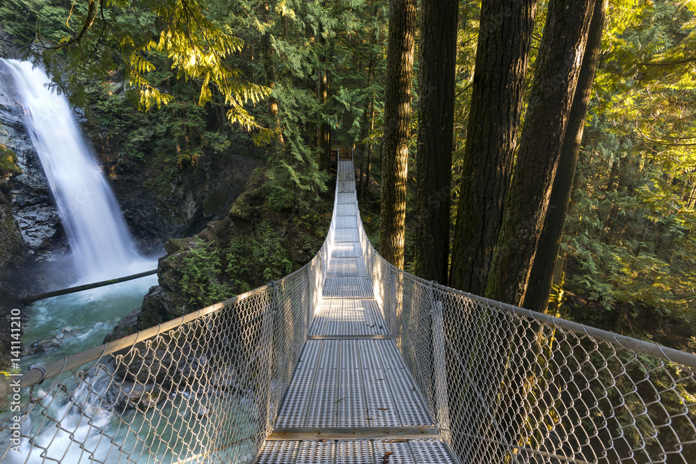 Fraser Valley Mountains and Waterfalls