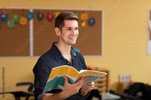 Canvas Print Beruf Lehrer