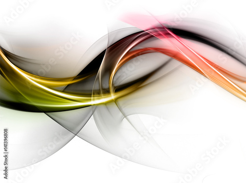Obraz premium Elegancki, abstrakcyjny wzór