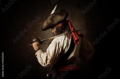 Fototapeta premium Pirat
