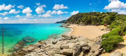 Canvas-taulu Costa Brava beach, ..Catalonia, Spain