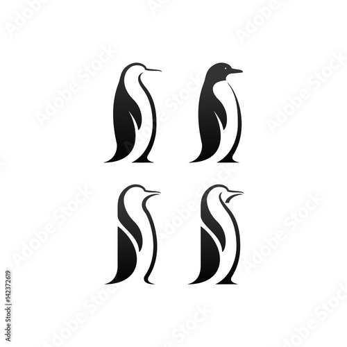 Carta da parati penguin vector