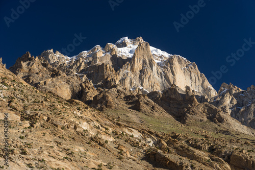 Paiju mountain peak, one of iconic peak in K2 trekking trail, Pakistan