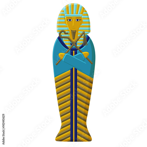 Wallpaper Mural The tomb of the pharaoh of ancient Egypt