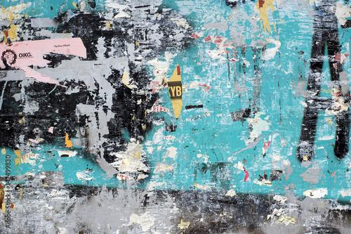 Fototapeta premium Tekstura ściany ulicy