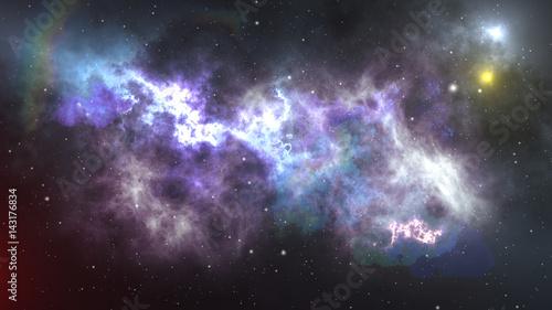Fotografia Space Nebula. Space of an immense universe