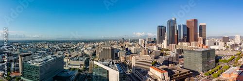 Fotografie, Obraz Panorama view of Los Angeles skyline