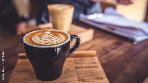Foto Hot Coffee Latte