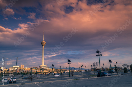 Milad Tower also known as the Tehran Tower is a multi-purpose tower in Tehran, Iran. It is the sixth-tallest tower and the 17th-tallest freestanding structure