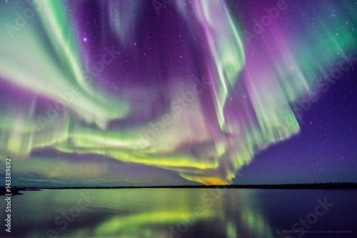 Canvas Print Aurora