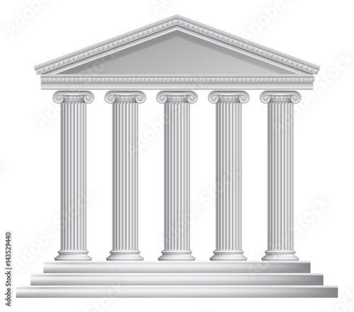 Canvas Print Greek or Roman Temple Columns