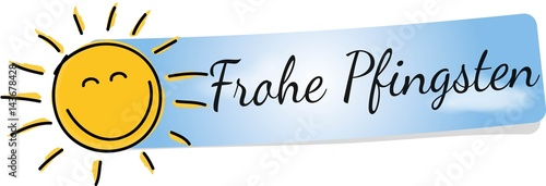Obraz na płótnie Frohe Pfingsten