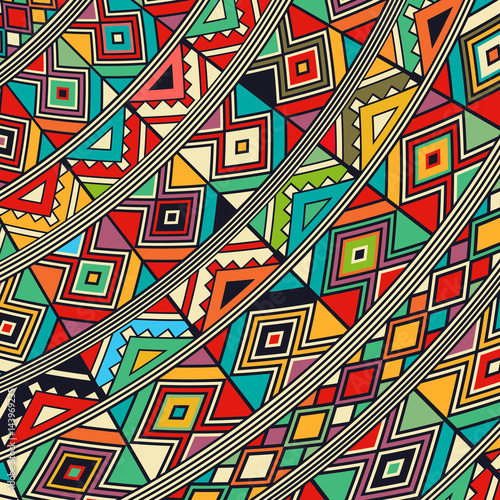 Wallpaper Mural African style icon