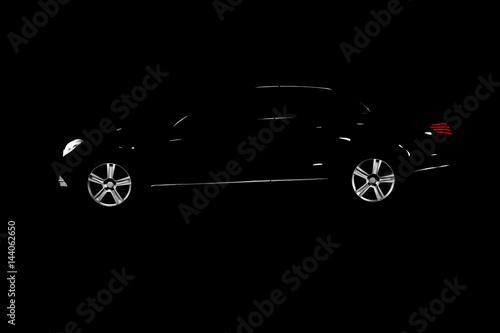 Платно Car Silhouette