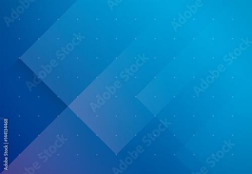 Murais de parede 背景 ビジネス イメージ(ブルー)