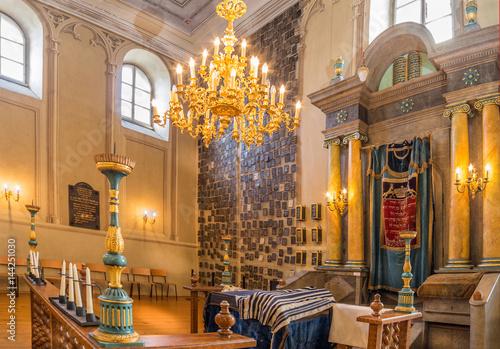 Fotografie, Obraz Beautiful synagogue in Austria.