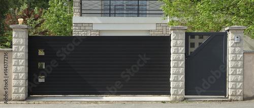 Foto Portail et portillon métallique