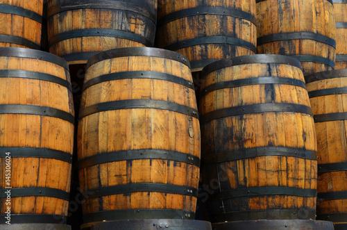 Fotografie, Tablou Oak Barrels