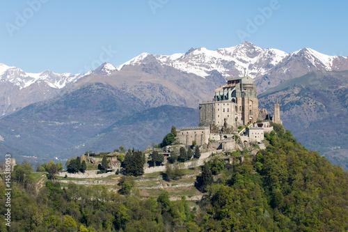 Slika na platnu Saint Michael's Abbey of the Val di Susa, Torino, Italy