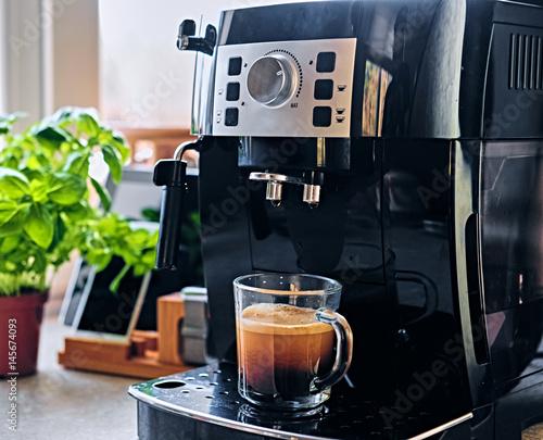 Canvastavla Professional coffee machine for home use.