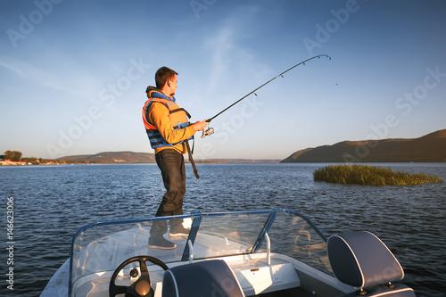 fishing Fototapet