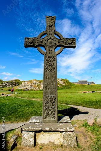 Fotografia, Obraz Iona abbey in Scotland