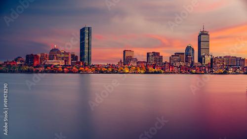 Fotografía Boston Skyline