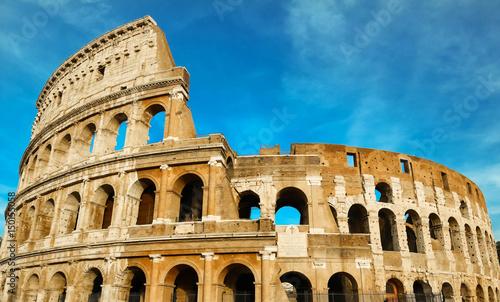 Foto The legendary Coliseum of Rome, Italy