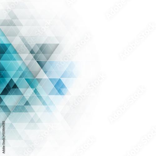 niebieskie-trojkaty-w-abstrakcji-geometrycznej