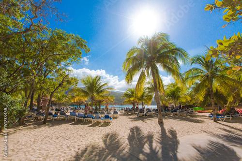 Fototapeta Labadee in Haiti