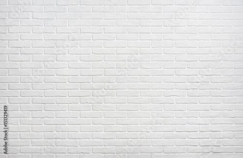 Folia na okno łazienkowe Biała ściana z cegieł jako tło dla fotografa