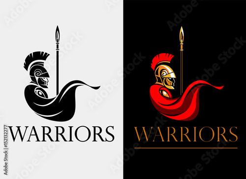 Fotografia Spartan warrior with spear