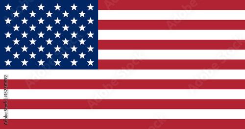 Obraz na płótnie Flag of the United States