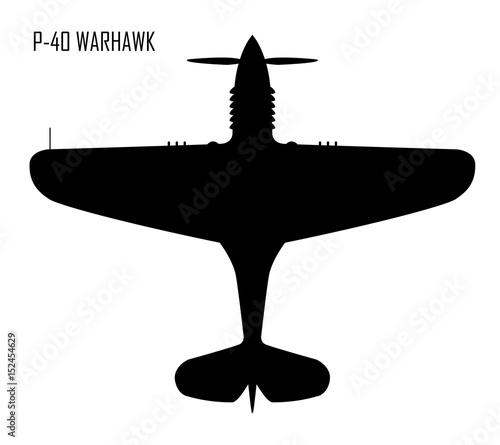 Photo World War II - Curtiss P-40 Warhawk